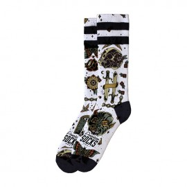 AMERICAN SOCKS SIGNATURE ARMSTRONG, DOUBLE BLACK STRIPED