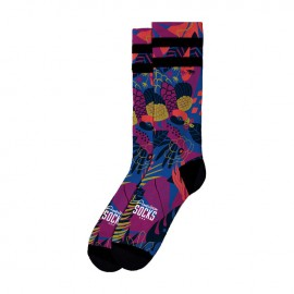 CALCETINES AMERICAN SOCKS SIGNATURE MACAW, DOUBLE BLACK STRIPED