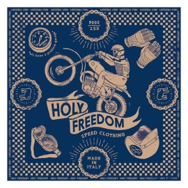 PAÑUELO HOLY FREEDOM CROSS NAVY SCARF