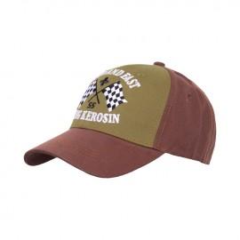 GORRA KING KEROSIN LOUD AND FAST TRUCKER CAP BROWN/OLIVE
