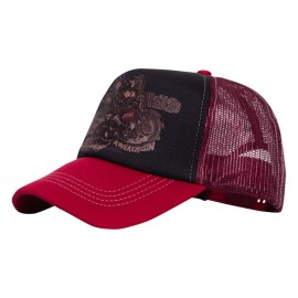 GORRA KING KEROSIN CLASSIC TRUCKER CAP MOTOR PSYCHO BLACK/RED