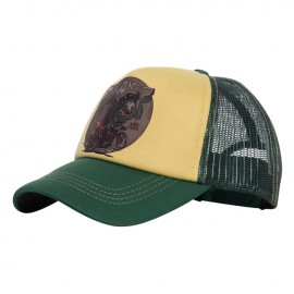 GORRA KING KEROSIN CLASSIC TRUCKER CAP FREAK YELLOW/GREEN