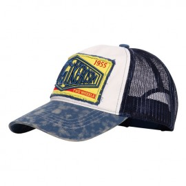 GORRA KING KEROSIN TRUCKER CAP SINCE 1955 WHITE/BLUE