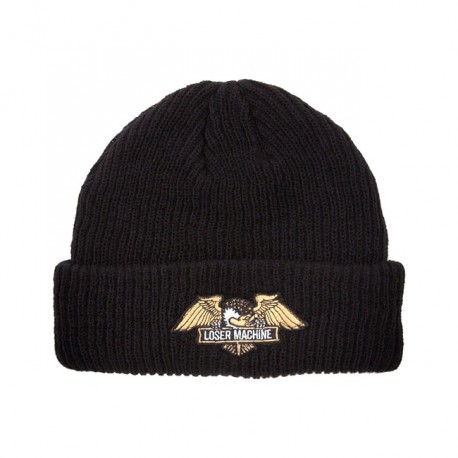 GORRO LOSER MACHINE FRANK BEANIE, BLACK