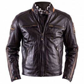 CHAQUETA HELSTONS ACE RAG BROWN