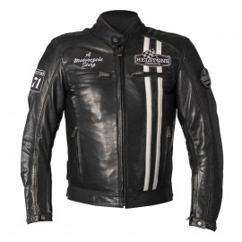 CHAQUETA HELSTONS INDY BLUE/ WHITE