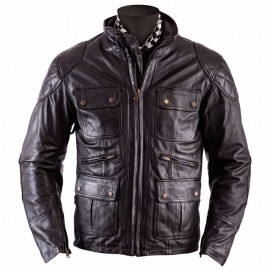 CHAQUETA HELSTONS HUNT BROWN