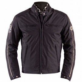 CHAQUETA HELSTONS ACE POLY-NYLON BLACK