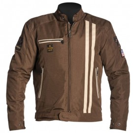 CHAQUETA HELSTONS COBRA BROWN