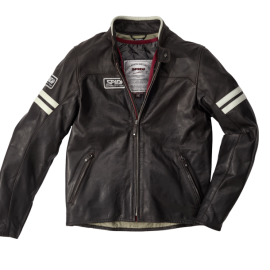 CHAQUETA SPIDI VINTAGE BROWN / ICE