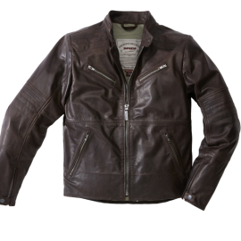 CHAQUETA SPIDI GARAGE BROWN