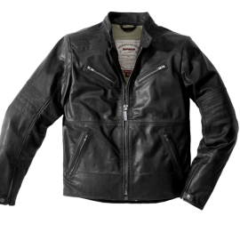 CHAQUETA SPIDI GARAGE BLACK