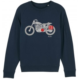 SUDADERA THRUXTON CLUB BLUE NAVY