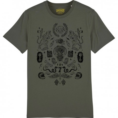 CAMISETA ELEMENTS KHAKI