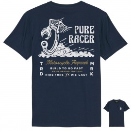 CAMISETA TOOL AND WINGS BLUE NAVY