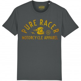 CAMISETA HELMET GOLD GREY CHARCOAL