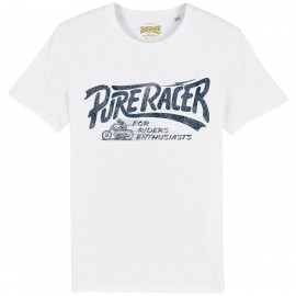 CAMISETA PURERACER BASIC 2 WHITE