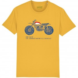 CAMISETA SCRAMBLER ENTHUSIAST YELOW