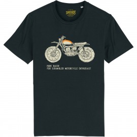 CAMISETA SCRAMBLER ENTHUSIAST BLACK
