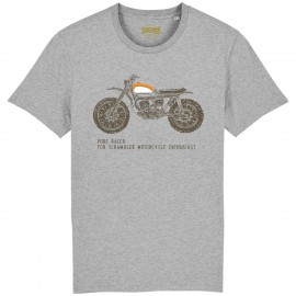 CAMISETA SCRAMBLER ENTHUSIAST GREY