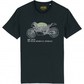 CAMISETA ITALIAN ENTHUSIAST BLACK