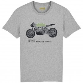 CAMISETA ITALIAN ENTHUSIAST GREY HEATHER