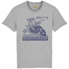 CAMISETA MICHELIN FRONT GREY
