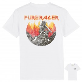 CAMISETA PURE BEAR RIDER WHITE