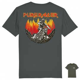 CAMISETA BEAR RIDER GREY CHARCOAL
