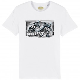 CAMISETA DIRT COMIC WHITE