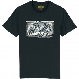CAMISETA DIRT COMIC BLACK