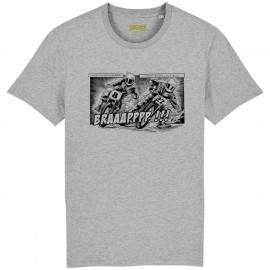CAMISETA DIRT COMIC GREY HEATHER