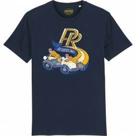 CAMISETA 70´S BLUE NAVY