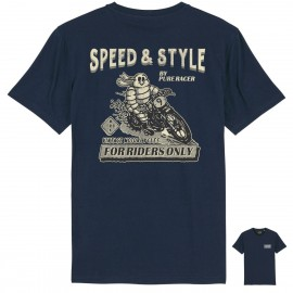 CAMISETA MICHELIN BACK BLUE NAVY