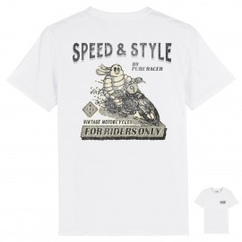 CAMISETA MICHELIN BACK WHITE