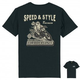 CAMISETA MICHELIN BACK BLACK
