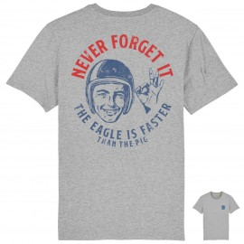 CAMISETA NEVER FORGET IT GREY