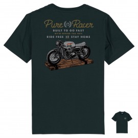 CAMISETA BUILT TO GO FAST BLUE NAVY