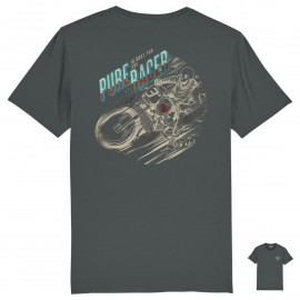 CAMISETA CAMISETA IN DUST YOU ARE.. GREY CHARCOAL