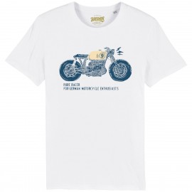CAMISETA MOTO 1 BLUE-WHITE