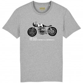 CAMISETA MOTO 2 BLACK-GREY