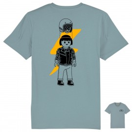 CAMISETA CLIC RIDER GREY HEATHER