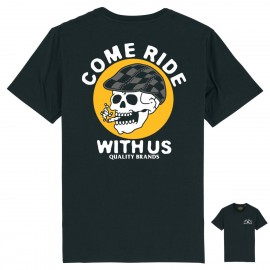 CAMISETA COME RIDE WHITE