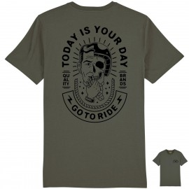 CAMISETA GO TO RIDE KHAKI