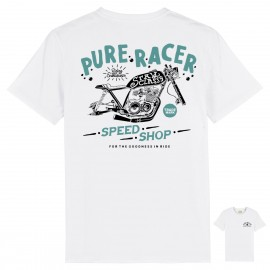 CAMISETA SPEED SHOP WHITE