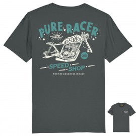 CAMISETA SPEED SHOP GREY CHARCOAL