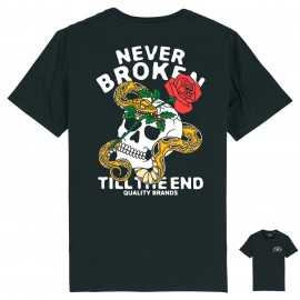 CAMISETA NEVER BROKEN BLACK