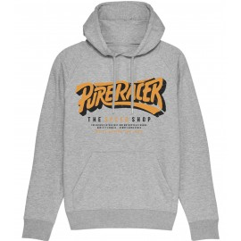 SUDADERA CAPUCHA THE SPEED SHOP GREY