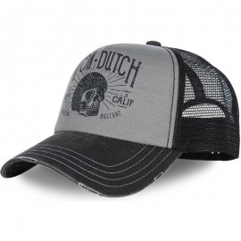 GORRA VON DUTCH CREW1 BLACK AND GREY