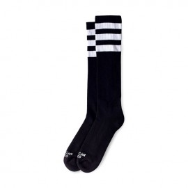CALCETINES AMERICAN SOCKS KNEE HIGH BACK IN BLACK, 19 INCH